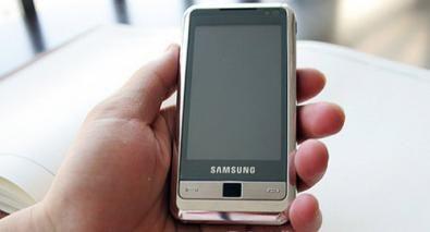 Samsung i900: cellulare GPS con 16 giga di memoria