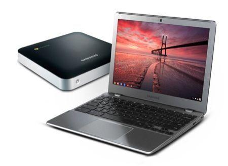 Samsung Serie 5 Chromebook e Chromebox, il rilancio di Google Chrome OS