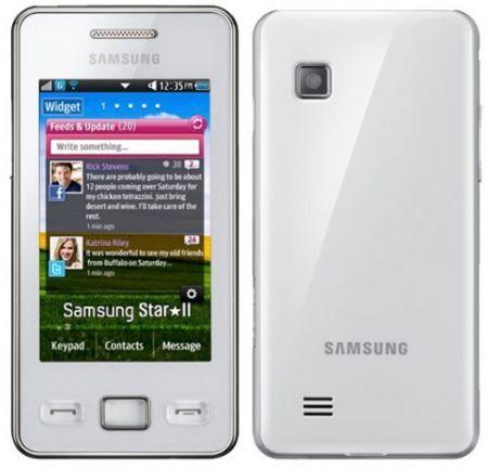 Samsung gt S5200 Samsung Gt-s5260 Star ii