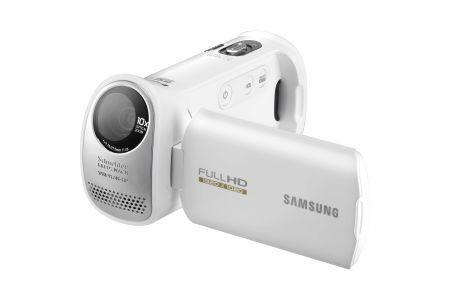 Samsung HMX-T10: videocamera Full HD con schermo touchscreen