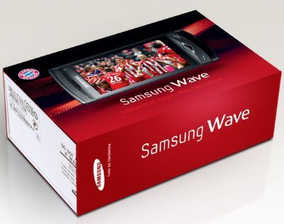 Samsung Wave Bayern Munchen Edition: smartphone in edizione limitata