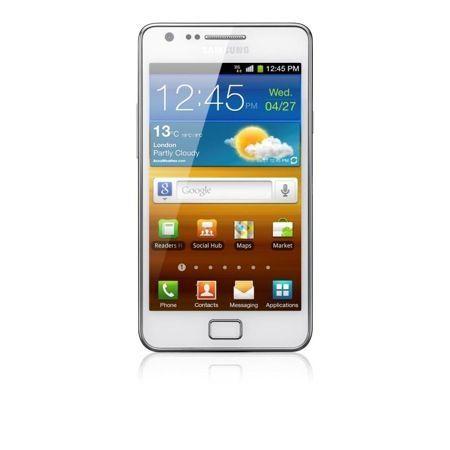 Samsung Galaxy S II Pure White, lo smartphone va in bianco