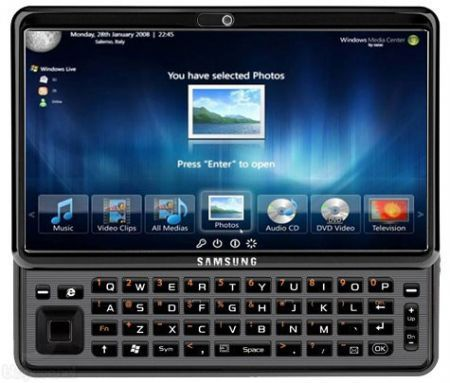 Samsung Gloria Tablet: 10 pollici, Windows 7 e QWERTY slide
