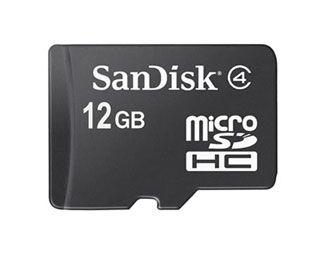 SanDisk, microSDHC 12Gb al CES 2008