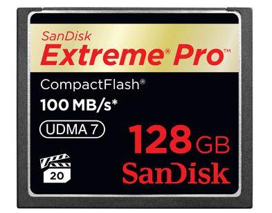 SanDisk Extreme Pro Compact Flash: scheda di memoria più veloce al mondo
