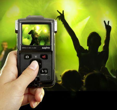 SANYO Xacti PD1: videocamera in alta definizione compatta