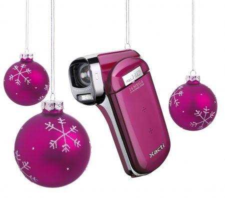 Sanyo Xacti VPC-CG100: dual camera leggera e colorata per Natale