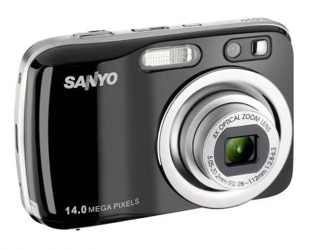 Sanyo S1414: fotocamera economica dal design ergonomico per Natale