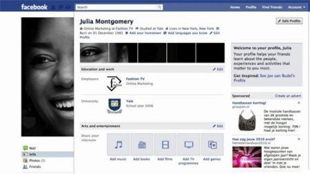 Schweppes Profile App: creare immagini adatte al nuovo profilo di Facebook