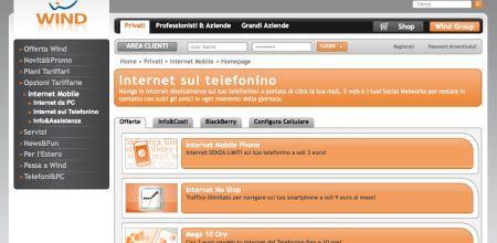 Wind Internet No Stop: navighi illimitatamente dal cellulare a 9 euro al mese