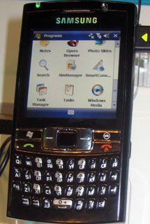 Samsung SGH-i780 dal Gitex 2007
