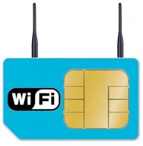 Sagem Orga SIMFI: la Sim Card con WiFi incorporato