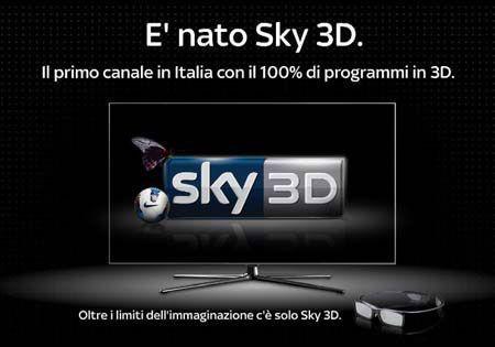 Sky 3D insieme a Samsung per la TV del futuro