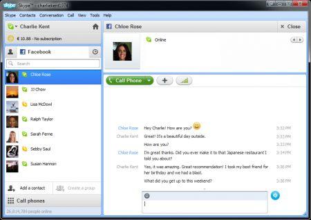 Skype 5.5 beta: chat, mi piaci e videochiamate migliorate