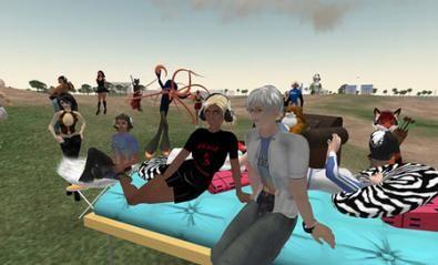 Celebration Party Nokia su Second Life