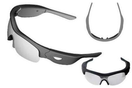 SofTeam OverLook GX-5: occhiali da sole con videocamera integrata