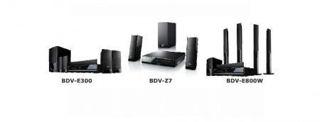 Sony BDV-E300, BDV-E800W e BDV-Z7: Home Cinema Blu Ray semplificato