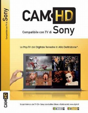 Sony Cam HD CI+: digitale terrestre Pay TV in alta definizione