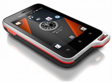 Sony Ericsson Xperia Active: smartphone resistente all'acqua e alla polvere