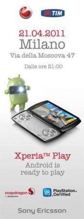 Sony Ericsson Xperia Play: in esclusiva con Tim fino al 31 maggio 2011