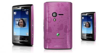 Sony Ericsson Xperia X10 mini e X10 mini pro: versione rosa per San Valentino