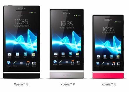 Sony xperia p e u, i nuovi modelli della prossima generazione [foto