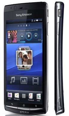 Sony Ericsson Xperia Arc: smartphone Android ultrasottile