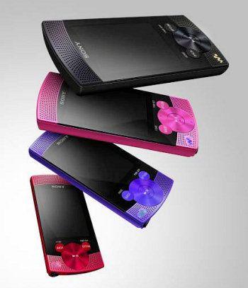 Sony Walkman Serie S540: lettore mp3 ultra sottile per San Valentino 2010