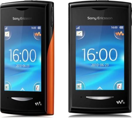 Sony Ericsson Yendo Walkman: cellulare touchscreen colorato come idea regalo