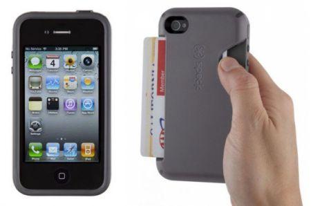 Custodia per iPhone con porta carta di credito integrato