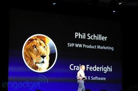 WWDC 2011 Mac OS X Lion