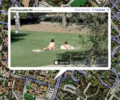 Uomo derubato, da la colpa a Google Street View