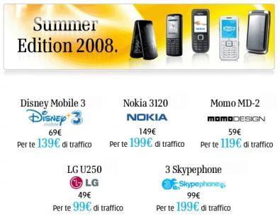 Summer edition 2008 da TRE