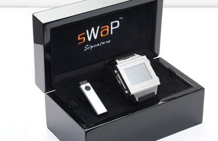 Swap Signature Swatch Phone