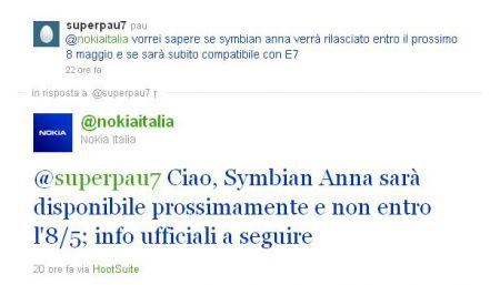Symbian^3 Anna rimandato