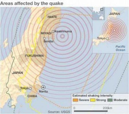 Terremoto Giappone: nonostante scosse continue e Tsunami Internet non è collassata
