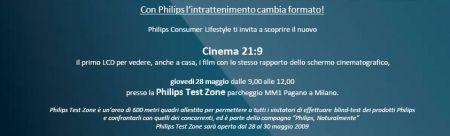 Philips Cinema 21:9: presentazione del nuovo televisore LCD