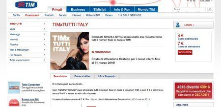 TimxTutti Italy: chiami i numeri fissi e Tim senza limiti