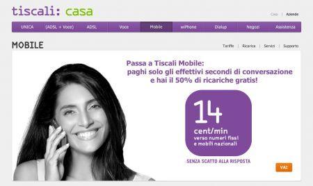 Tiscali Mobile: le nuove offerte