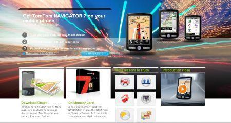 TomTom 7 Navigator: in vendita presso il web shop di TomTom