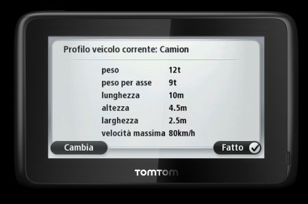 TomTom PRO 7100 TRUCK: navigatore GPS per autotrasportatori