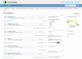 Tonesall: scaricare suonerie per cellulari in pochi click
