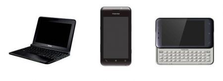 Toshiba K01, Toshiba TG02 e Toshiba Mini NB300 ed NB305
