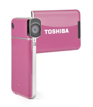 Toshiba HD Camileo S20: videocamera ultra slim in rosa per San Valentino 2010