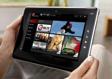 Toshiba Folio 100: Tablet Andoid all'IFA 2010