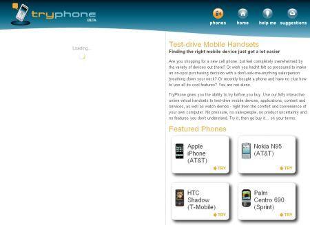 Tryphone online il simulatore di cellulari tecnozoom for Simulatore di costruzione di case online