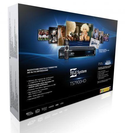 Premium Net Tv di Mediaset con il decoder digitale terrestre TS 7900HD di TELE System