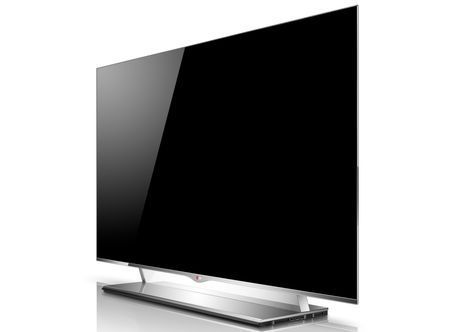 TV LG OLED da 55 pollici, il pi grande e sottile al mondo