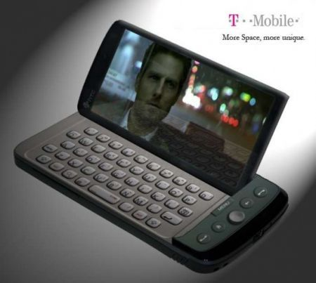 HTC Twist Sidekick: Snapdragon, QWERTY con T-Mobile progetto Smeraldo
