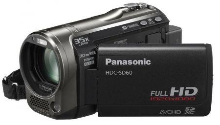Panasonic HDC-SD60: una videocamera di qualità